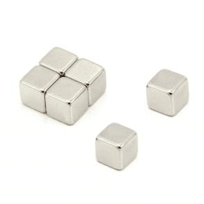 10 x 10 x 10mm thick N42 Neodymium Magnet - 4.7kg Pull