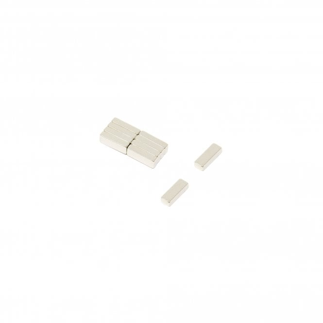 10 x 3.5 x 2.25mm thick N45 Neodymium Magnet - 0.9kg Pull
