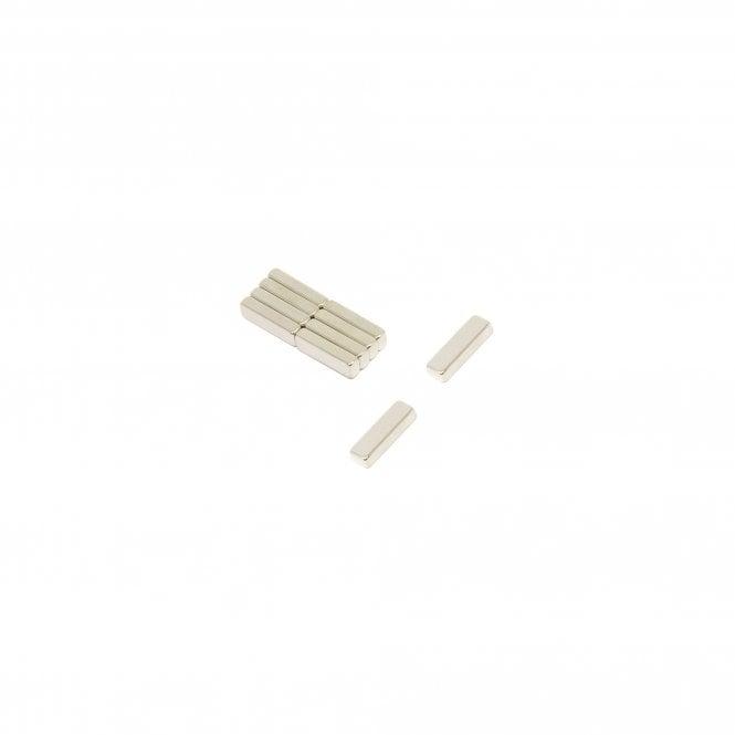 10 x 3 x 2mm thick 45H Neodymium Magnet - 0.8kg Pull