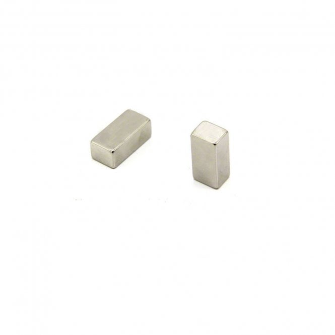 10 x 8 x 21mm thick N42 Neodymium Magnet - 4.5kg Pull