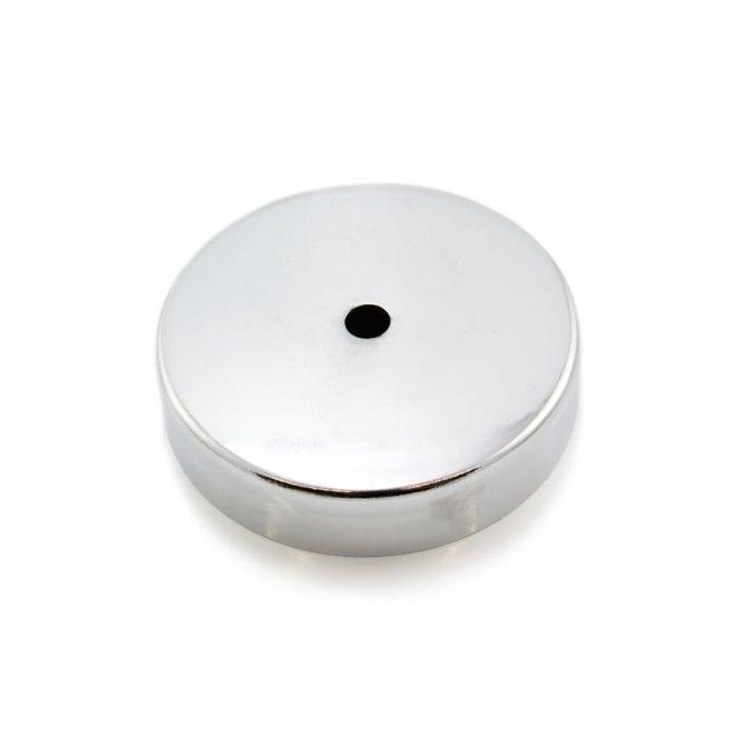100mm dia x 22mm thick x 11mm hole Ferrite Pot Magnet  - 68kg Pull