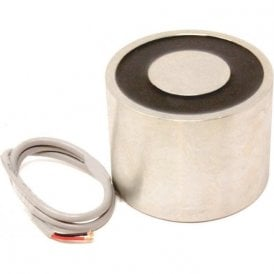 101.6mm dia x 76.2mm thick Electromagnet with 10mm Mounting Hole - 430kg Pull (12V DC / 33W) (Pack of 1)