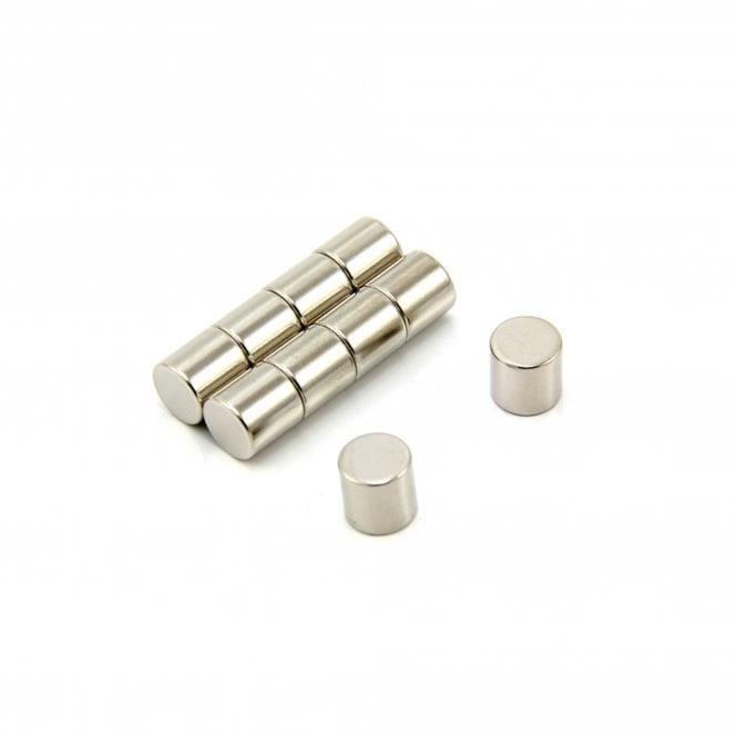 10mm dia x 10mm thick Samarium Cobalt Magnet - 2.6kg Pull
