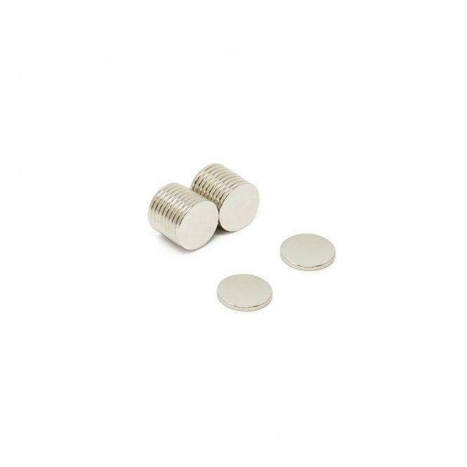 10mm dia x 1mm thick N35 Neodymium Magnet - 0.51kg Pull