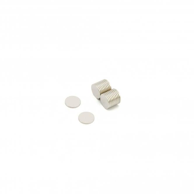 10mm dia x 1mm thick N42 Neodymium Magnet - 0.58kg Pull