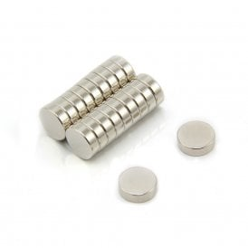 10mm dia x 3mm thick N35 Neodymium Magnet - 1.5kg Pull (Pack of 20)