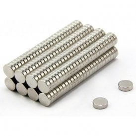 10mm dia x 3mm thick N42 Neodymium Magnet - 1.8kg Pull ( Pack of 200 )