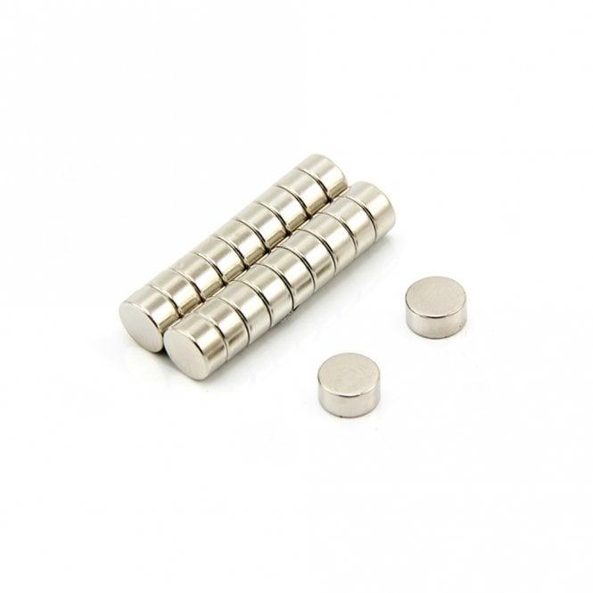 10mm dia x 5mm thick Samarium Cobalt Magnet - 1.8kg Pull