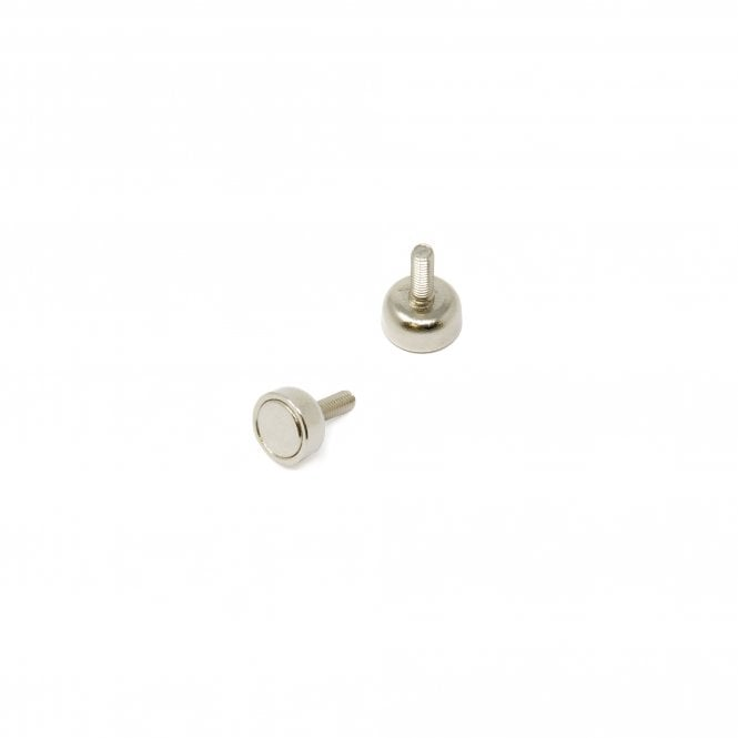 10mm dia x 5mm thick x M3 stud N42 Neodymium Pot Magnet - 3kg Pull