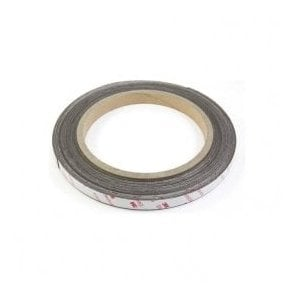 12.7mm wide x 0.85mm thick Flexible Neodymium Magnetic Tape with 3M Self Adhesive - Self Mating