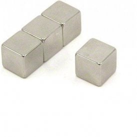 12 x 12 x 12mm thick N42 Neodymium Magnet - 7.4kg Pull ( Pack of 40 )