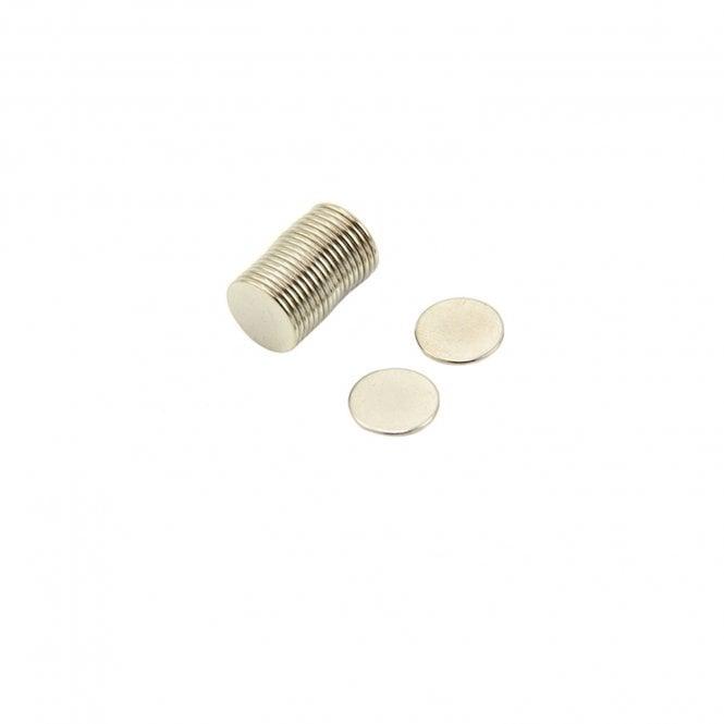 12mm dia x 1mm thick N42 Neodymium Magnet - 0.73kg Pull