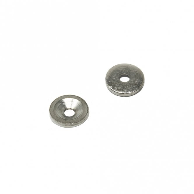 12mm dia x 2mm thick x 3.2mm c/sink Nickel Plated Mild Steel Disc