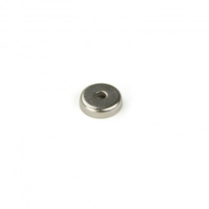 14mm dia x 3.6mm thick x 3.5mm c/bore N42 Neodymium Stainless Steel Pot Magnet - 5.2kg Pull