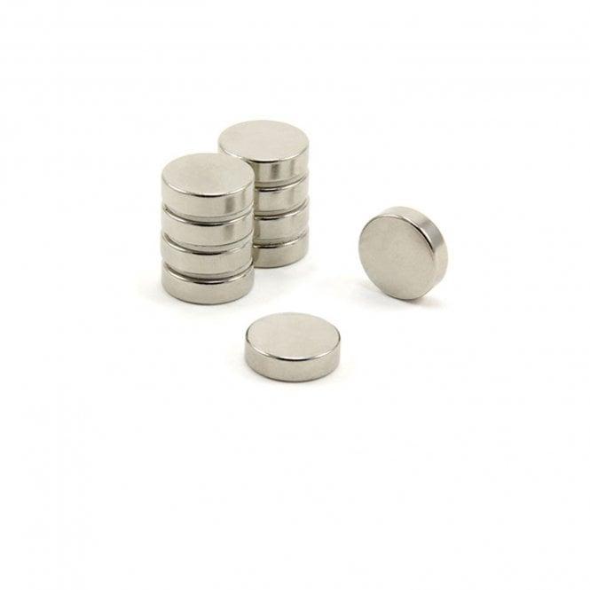 14mm dia x 4mm thick N42 Neodymium Magnet - 3.4kg Pull