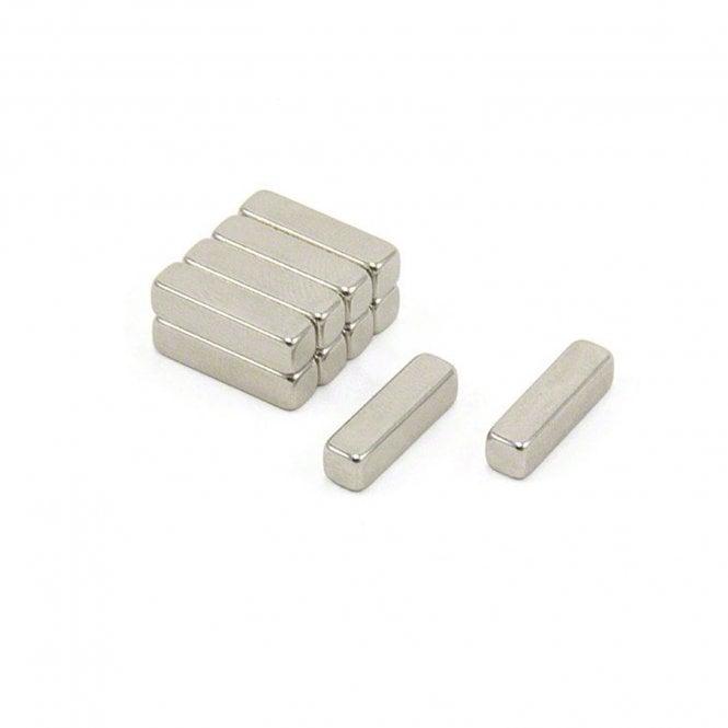 15 x 4 x 4mm thick N42 Neodymium Magnet - 2.2kg Pull