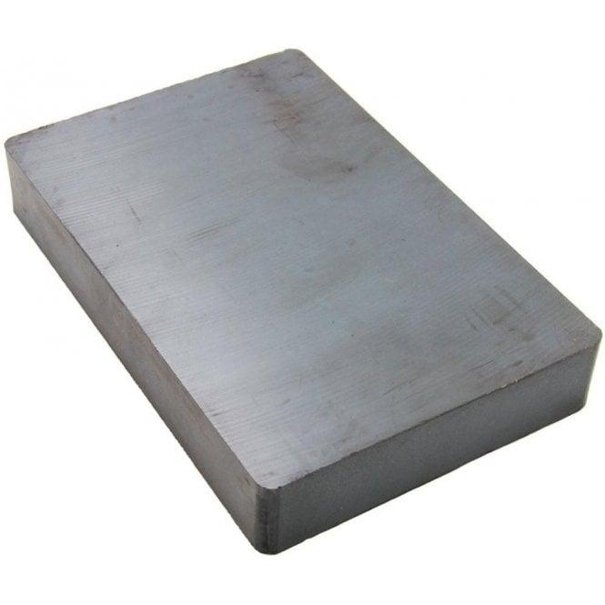152.4 x 101.4 x 25.4mm thick Y30BH Ferrite Magnet - 20kg Pull