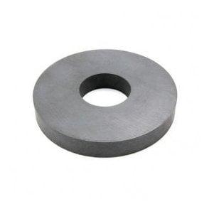 157mm O.D x 56mm I.D x 22mm thick Y30BH Ferrite Ring Magnet