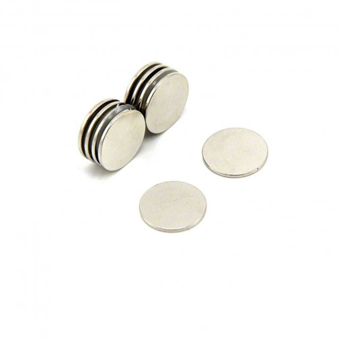 15mm dia x 1mm thick N42 Neodymium Magnet - 1.1kg Pull