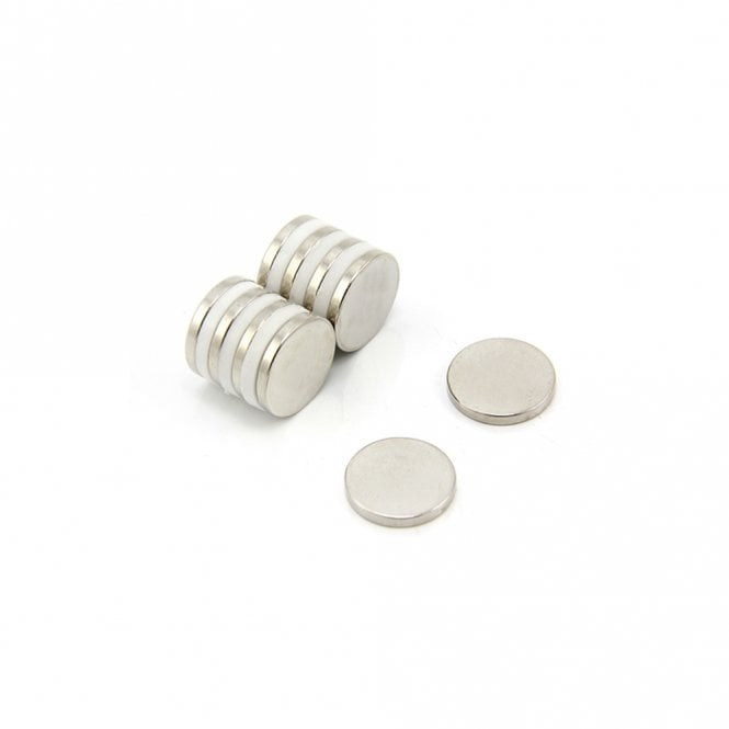 15mm dia x 2mm thick Samarium Cobalt Magnet - 1.4kg Pull