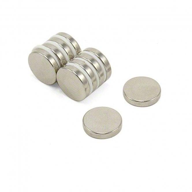 15mm dia x 3mm thick N42 Neodymium Magnet - 2.9kg Pull