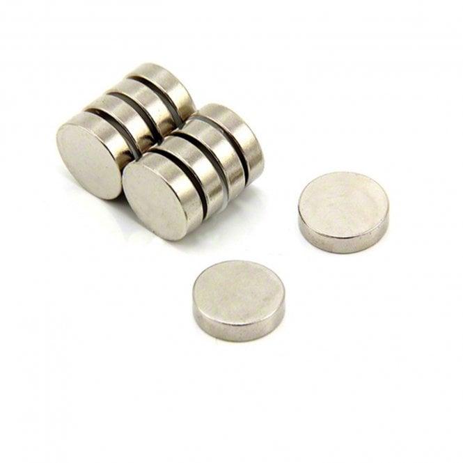 15mm dia x 4mm thick N35 Neodymium Magnet - 2.8kg Pull