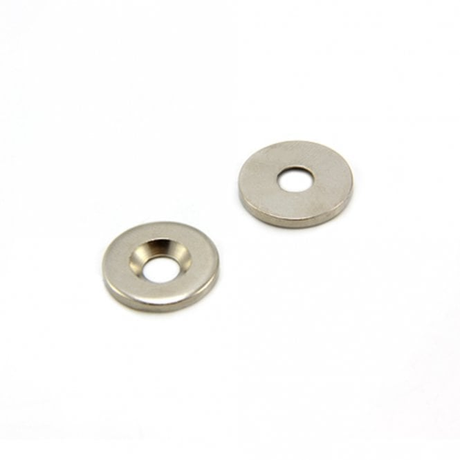 16mm dia x 2mm thick x 5mm c/sink Steel Disc