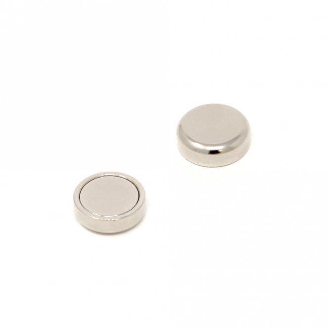 16mm dia x 5mm thick N42 Neodymium Glue In Pot Magnet - 10.6kg Pull