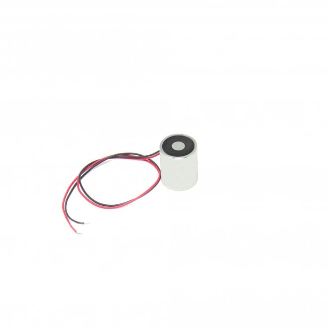 17mm dia x 20mm thick Energise to Release Electromagnet with M3 Mounting Hole - 2kg Pull (6VDC / 6.8W)