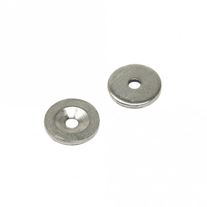 18mm dia x 2mm thick x 4.2mm c/sink Steel Disc