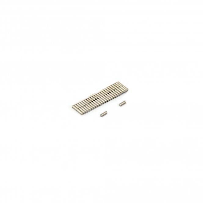 1mm dia x 3mm thick Diametrically Magnetised N42 Neodymium Magnet