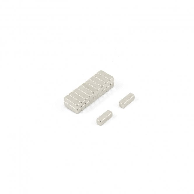 2.5 x 7.5 x 2.5mm N42 Neodymium Magnet