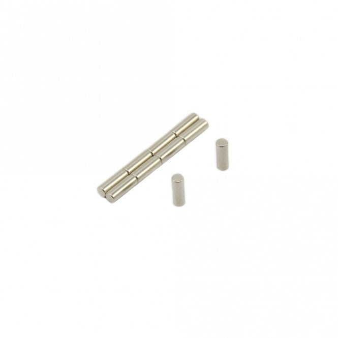 2.5mm dia x 7mm thick N42 Neodymium Magnet - 0.27kg Pull