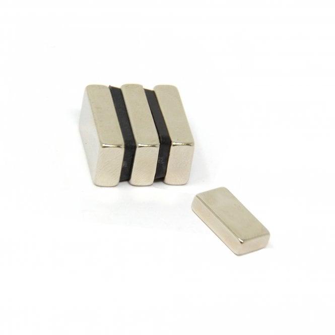 20 x 10 x 5mm thick N42 Neodymium Magnet - 5.4kg Pull