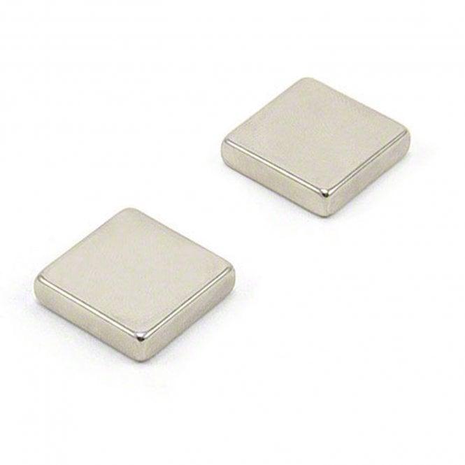 20 x 20 x 5mm thick N42 Neodymium Magnet - 7.8kg Pull
