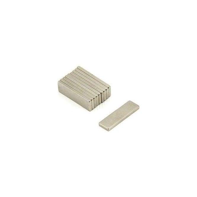20 x 6 x 1.5mm thick Samarium Cobalt Magnet - 0.86kg Pull