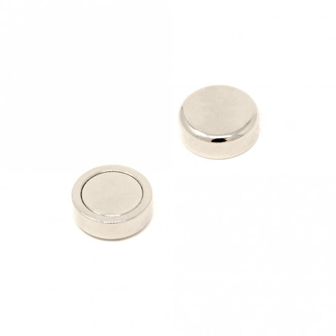 20mm dia N42 Neodymium Glue In Pot Magnet - 11.2kg Pull