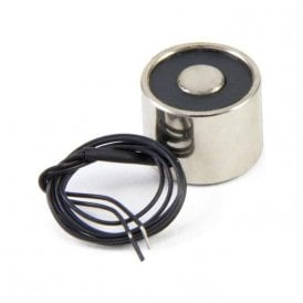 20mm dia x 15mm thick Electromagnet with M3 Mounting Hole - 2.5kg Pull (3W / 0.13A)