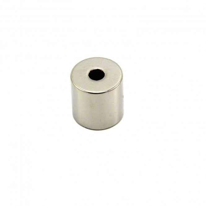 20mm dia x 20mm thick N42 Neodymium x 6mm hole Magnet - 15kg Pull