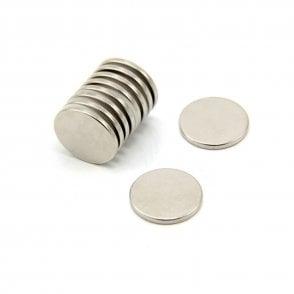20mm dia x 2mm thick N42 Neodymium Magnet - 2.6kg Pull
