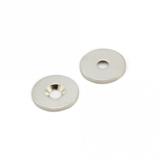 20mm dia x 2mm thick x 4mm c/sink Steel Disc