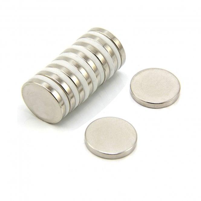 20mm dia x 3mm thick N42 Neodymium Magnet - 4.6kg Pull