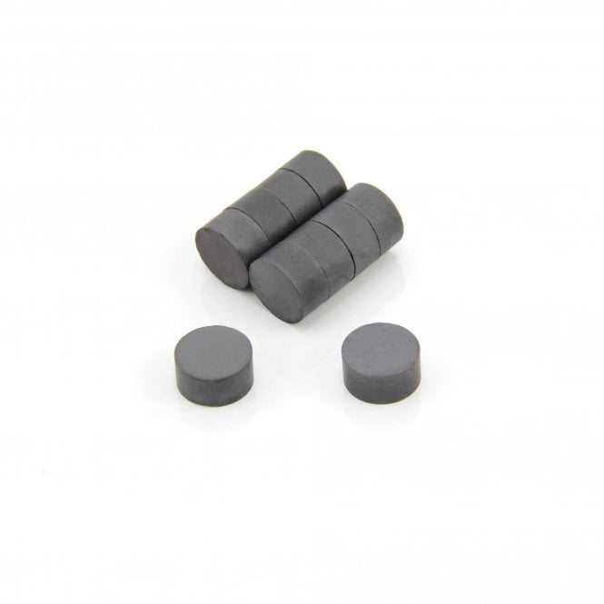 20mm x 10mm thick Y30BH Ferrite Magnet - 1.4kg Pull