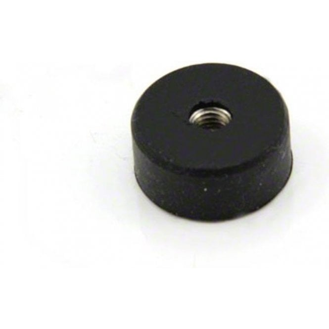 22mm dia x 10mm thick x M5 thread hole Rubber Coated Pot Magnet - 3.8kg Pull