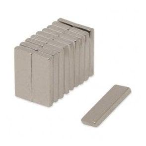 25 x 10 x 3mm thick Samarium Cobalt Magnet - 3.3kg Pull