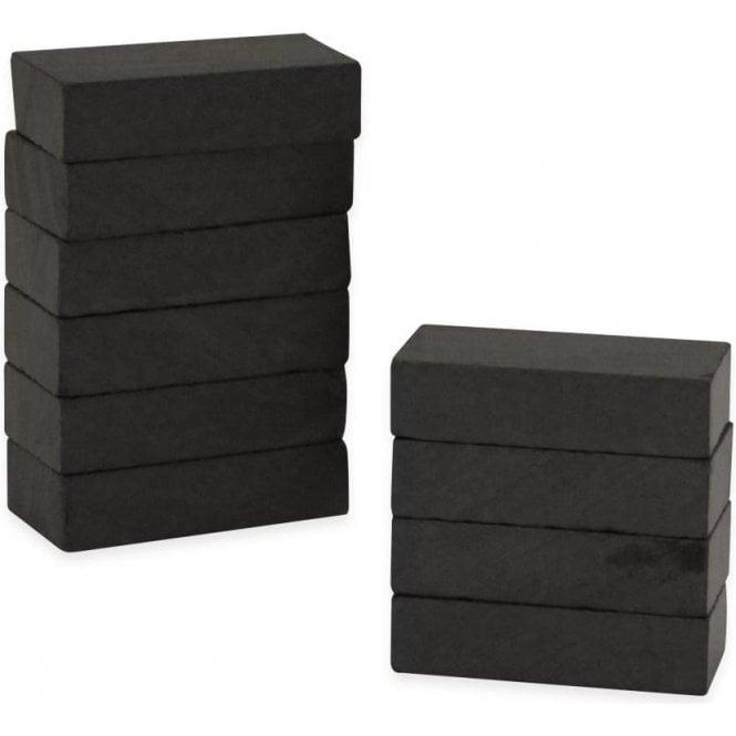 25 x 13 x 6mm thick Y30BH Ferrite Magnet