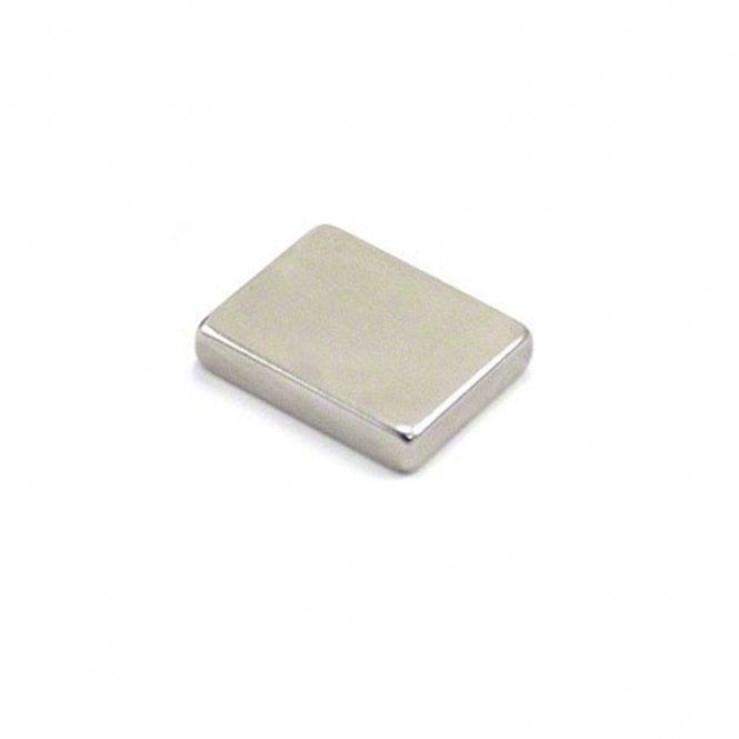 25 x 20 x 5mm thick N42 Neodymium Magnet - 9.9kg Pull