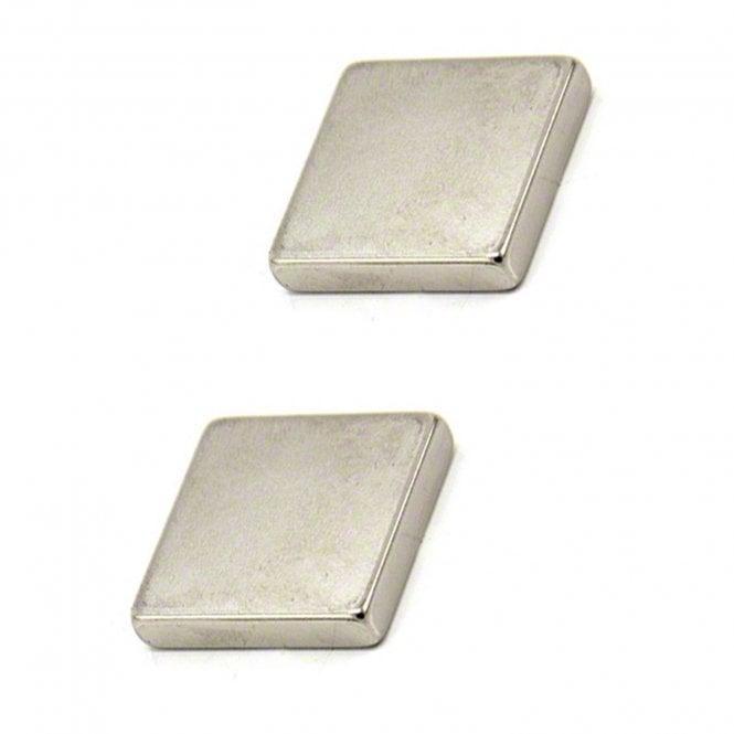 25 x 25 x 5mm thick N42 Neodymium Magnet - 11kg Pull