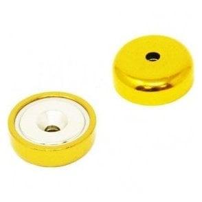 25mm dia A Type Neodymium Pot Magnet - 26kg Pull