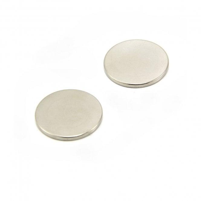 25mm dia x 2mm thick N42 Neodymium Magnet - 3.5kg Pull